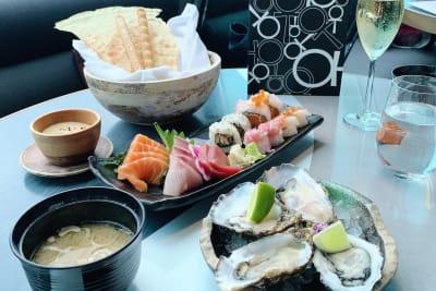 Sake & Sakura Brunch at Aqua