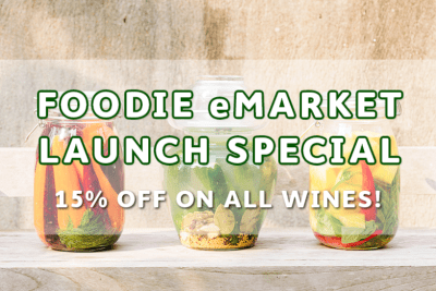 Say Hello to Foodie's eMarket + Launch Specials!