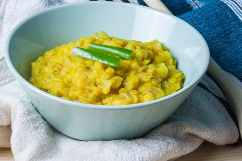 Ethiopian Eats - Kik Wok Recipe