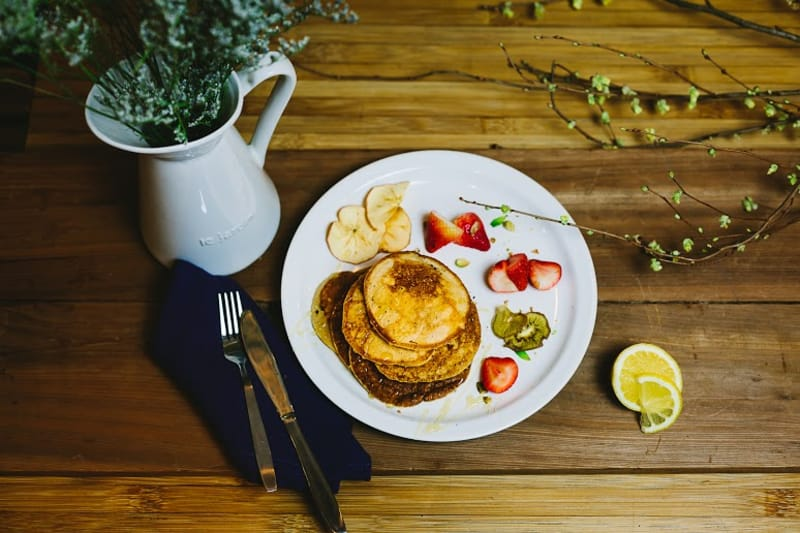 Earl Grey Pancakes