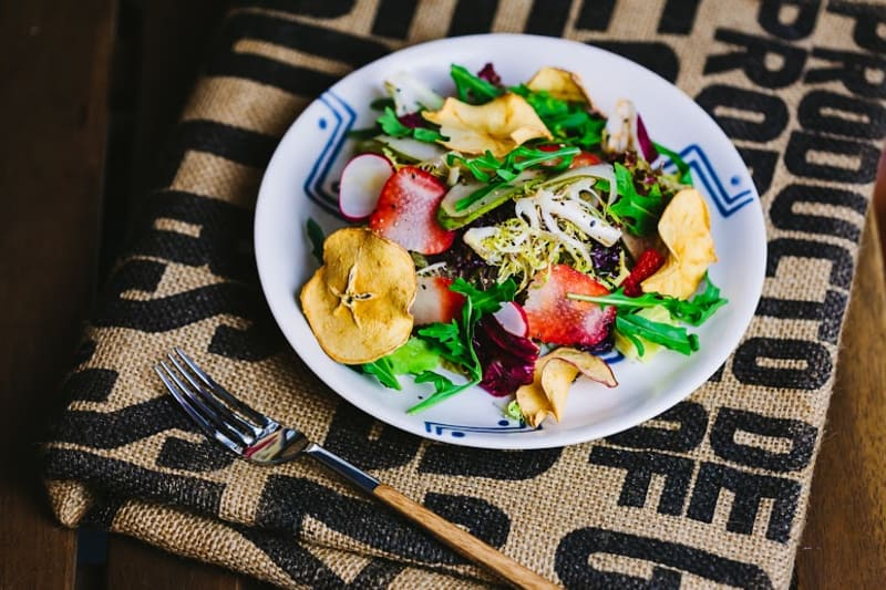 Chicory and Asian Pear Salad