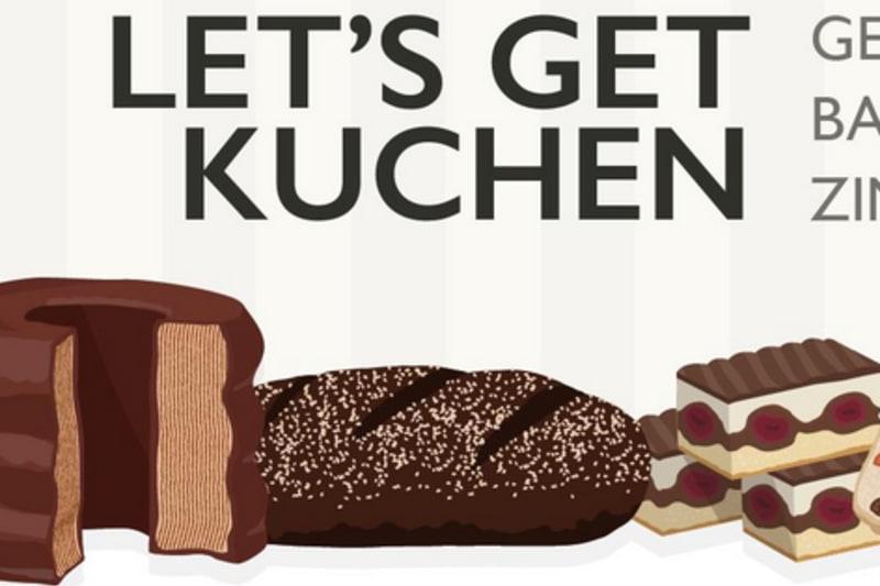 German Bakes from Baumkuchen to Zimtschnecke