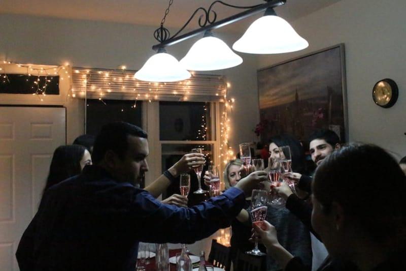 Dinner at Casa Maestoso