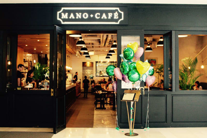 Corner Kitchen Cafe x Mano = Mano Cafe