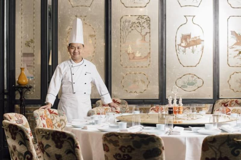 Three Michelin-Starred Chef Makes a Shining Mark in HK