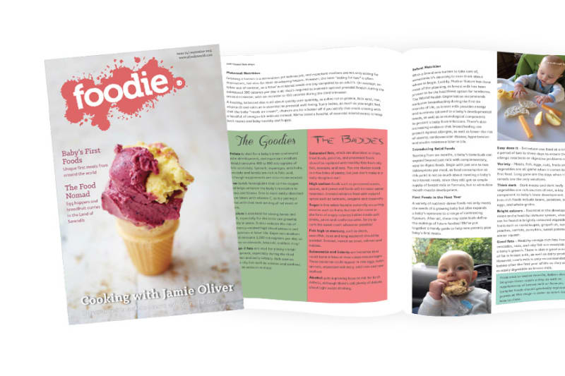 September 2015 Issue of Foodie Out Now