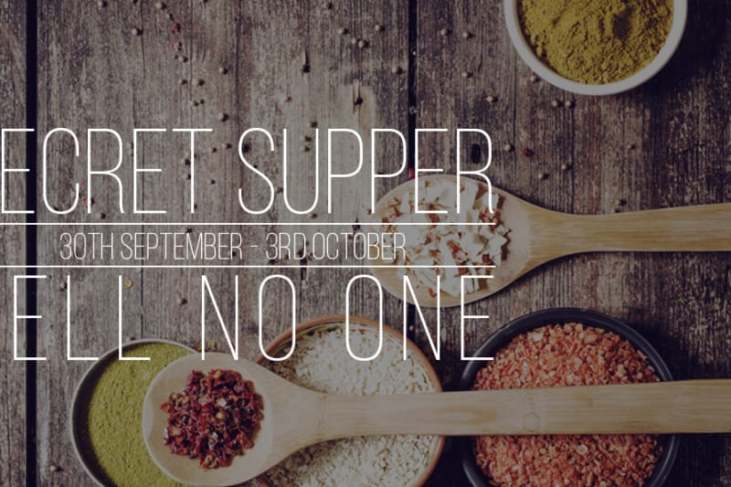 Secret Supper Club: October 2015