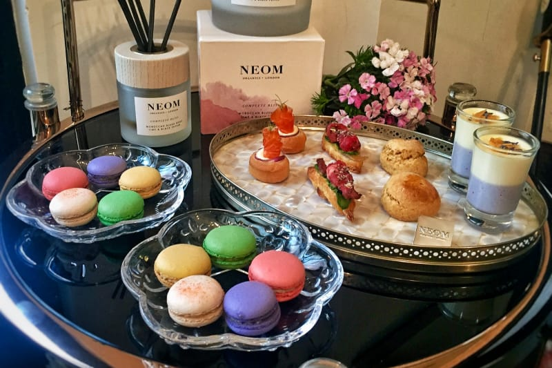 NEOM x Jouer Atelier Wellness Journey Afternoon Tea