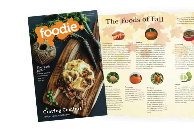 October 2015 Issue of Foodie Out NOW