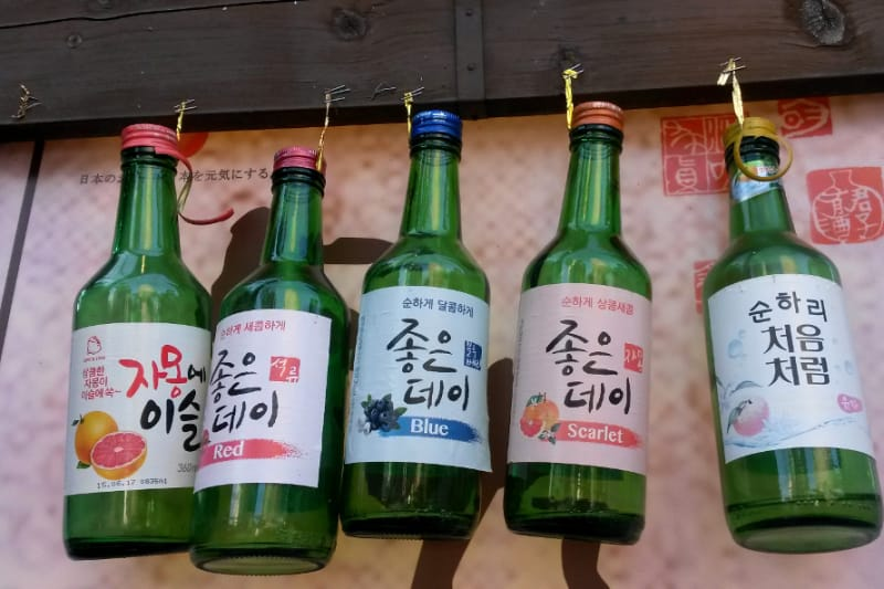 Which Are The Best Flavoured Sojus in South Korea? | Foodie
