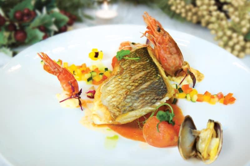 Feast Your Eyes on the Festive Brunch at Armani Aqua