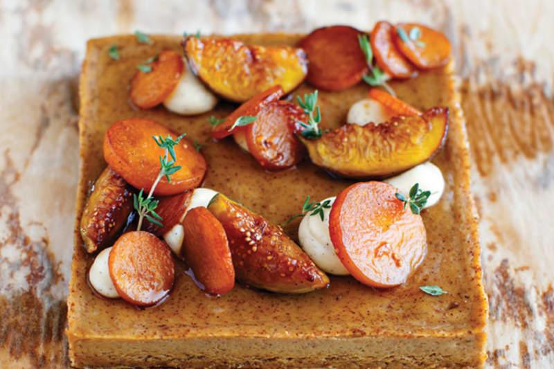 Spiced Pumpkin Curd, Cider Winter Fruits Recipe