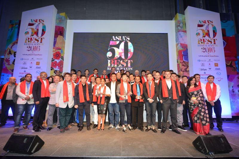 Asia's 50 Best Restaurants 2016 List Announced
