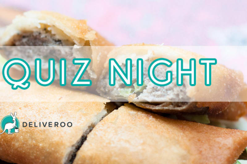 Foodie Quiz Night With Deliveroo