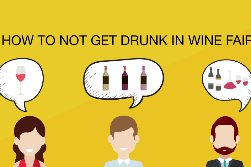 How to Not Get Drunk at Wine Fairs