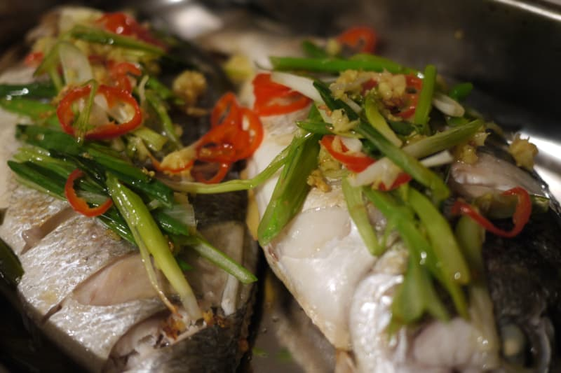 Steamed Fish With Chilli And Ginger Recipe