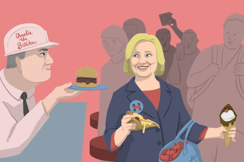 Meet the Latest Food Critic Hillary, Clinton That is