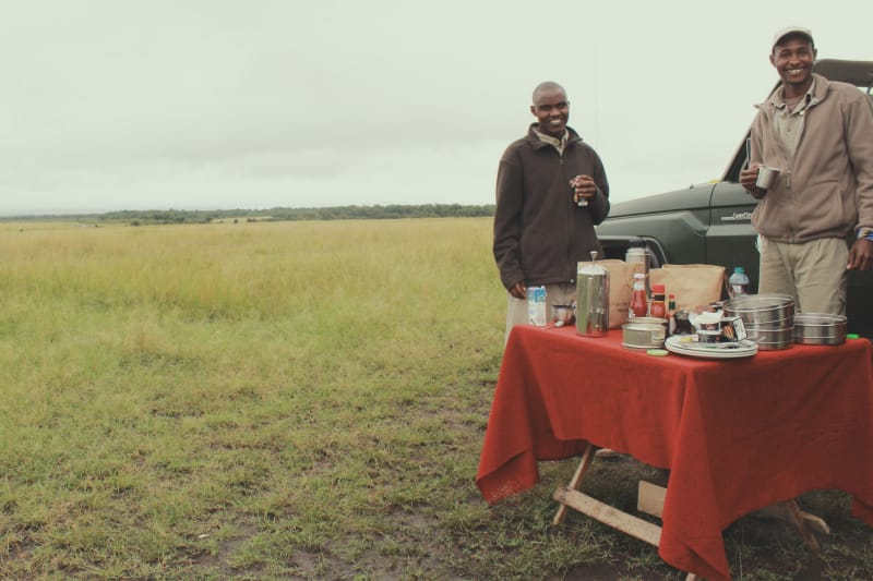 Kichwa Timbo - The Safari for Foodies in the Masai Mara