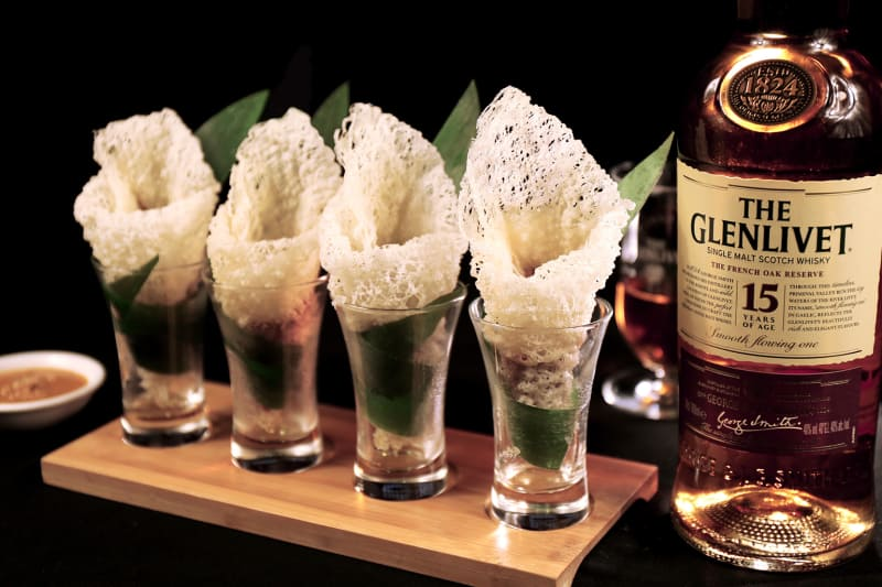 NEW MENU: Shanghai Lo x The Glenlivet