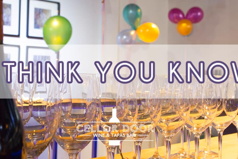 EVENT: So You Think You Know Wine?
