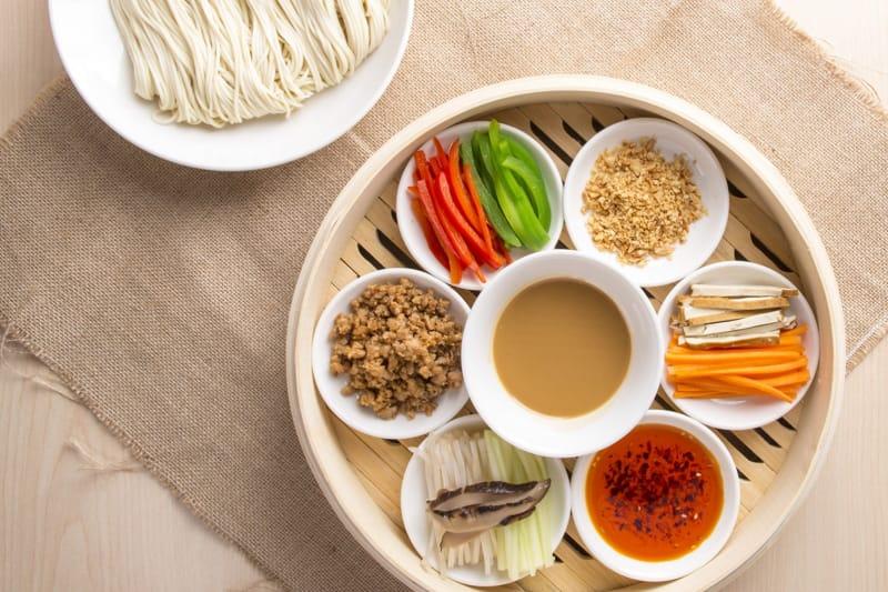 翡翠拉麵小籠包 夏日限定 正宗上海冷麵