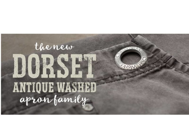 Get the Vintage Look with Chef Works' New Dorset Aprons