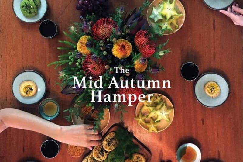 Mid-Autumn Hampers from PLANTATION by teakha and Flos and the Folk
