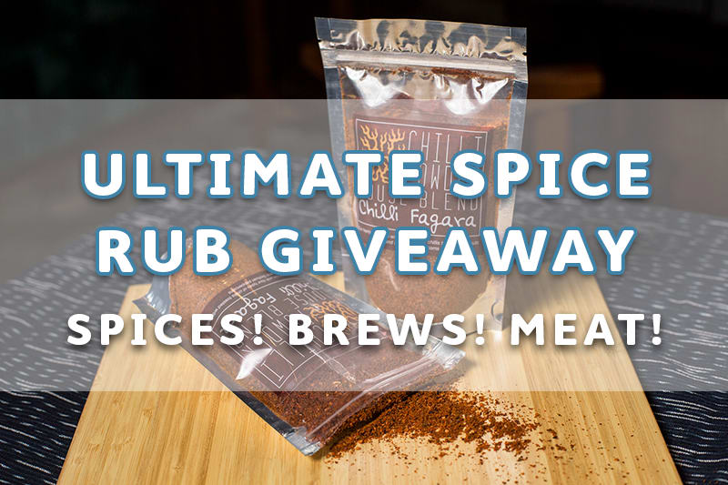 The Ultimate Foodie Giveaway: Meat, Spices and Beer