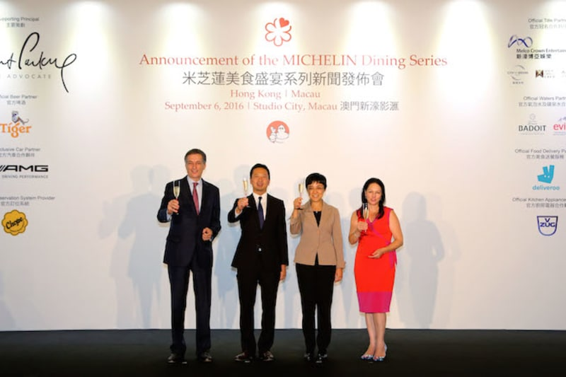 Melco Crown Entertainment: Michelin's New Title Partner in HK and Macau