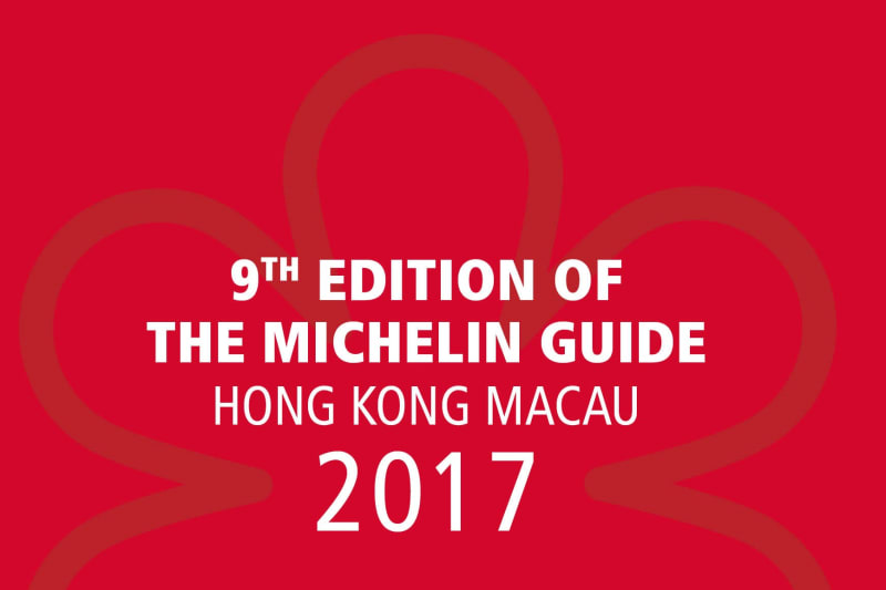 Michelin Guide Hong Kong Macau 2017