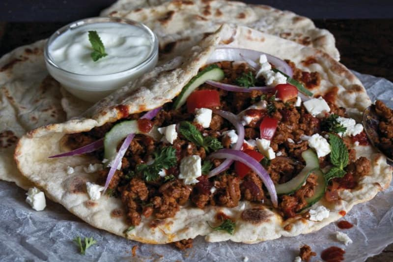 Recipe: Spiced Lamb Flatbread