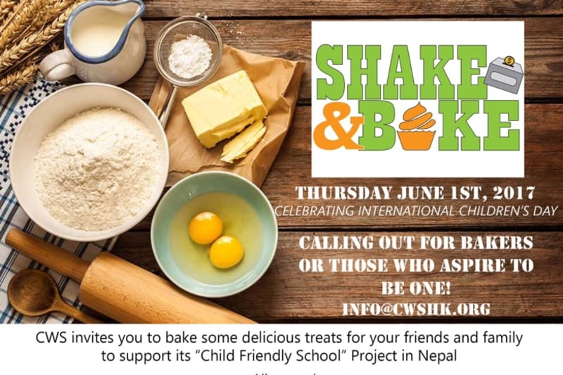 Charity Bake-Off by Child Welfare Scheme: Shake & Bake