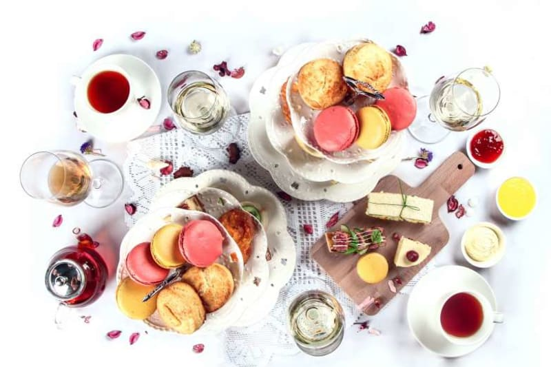 Wine, Perfume and Afternoon Tea