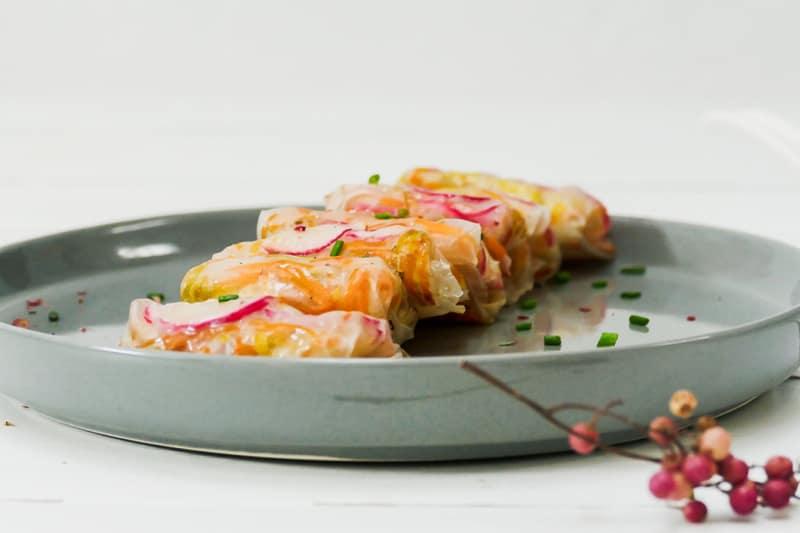 Recipe: Vegan Crispy Rice Pockets with Almond Dip