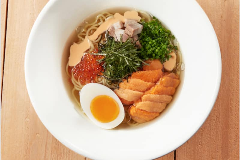 "Exclusive ""COOL"" Uni Ramen at IPPUDO Hong Kong"