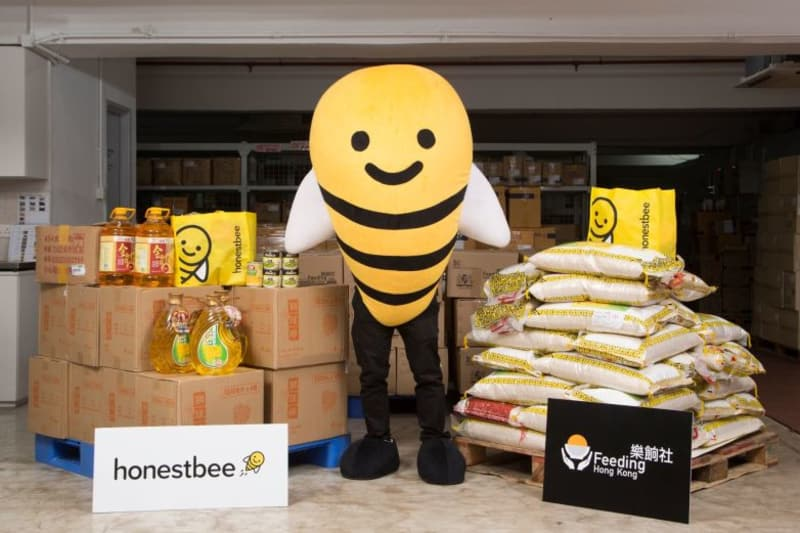 honestbee x Feeding HK: Launch of Online Charity Food Store