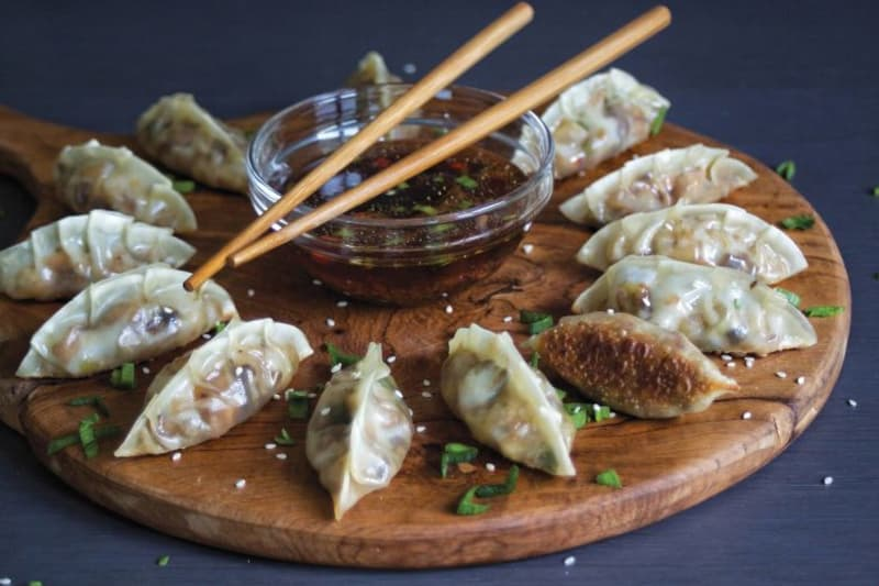 Recipe: Vegetable Potstickers