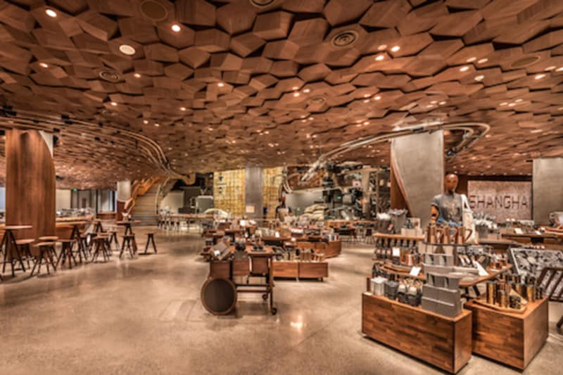 Starbucks Unveils New Coffee Super-Shop in China