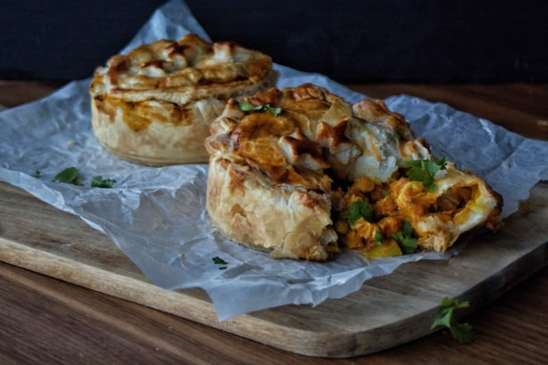"Recipe: ""Leftovers"" Curry Pie"