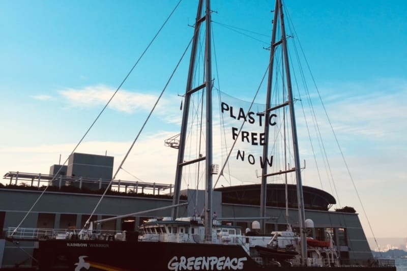 Greenpeace Undertakes Plastic Study of HK Waters to Discover Effects on Marine Life