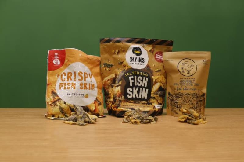 Food War: Fish Skin Smackdown