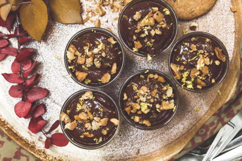 Recipe: Lemon-Ginger Vegan Chocolate Mousse