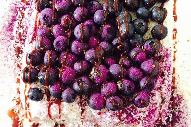 Recipe: Coconut-Blueberry Cake