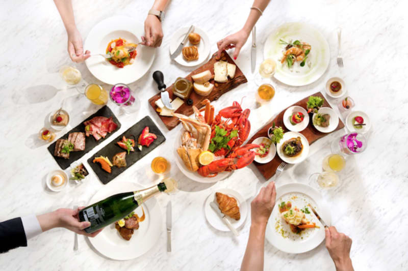 New Brunch: Bubbles & Brunch at the Conrad