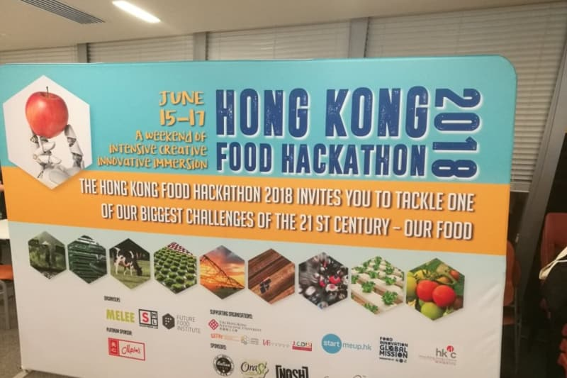Food Hackathon at PolyU: Addressing our Food's Future