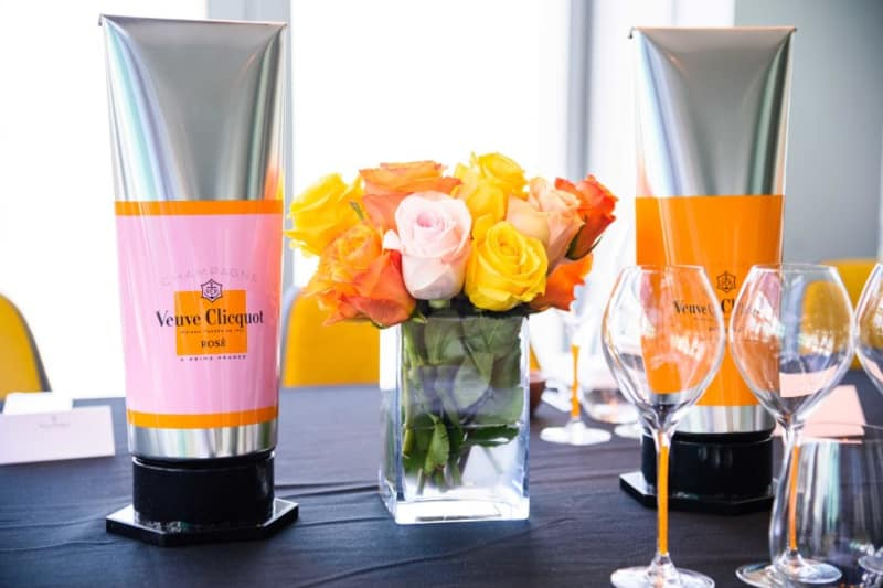 Veuve Clicquot Launches Colorama at aqua and Armani/aqua