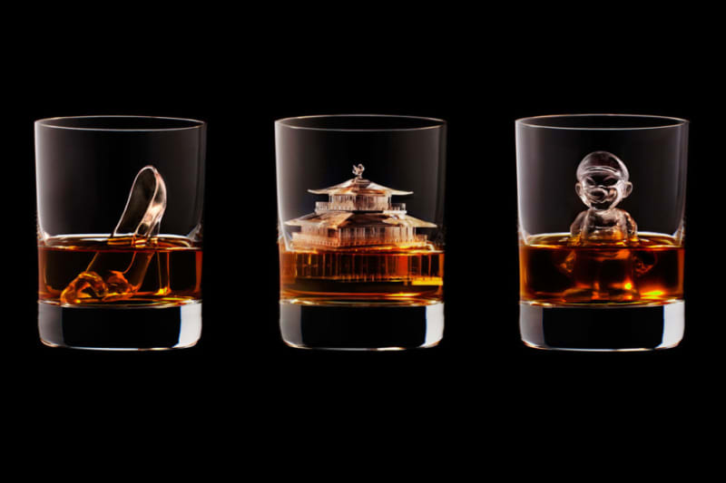 Suntory Whisky Have 3-D Printed the Most Amazing Ice Cubes