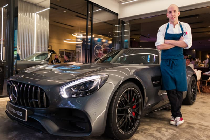 Behind the Dish with Head Chef Joaquin Elizondo of Mercedes me Store