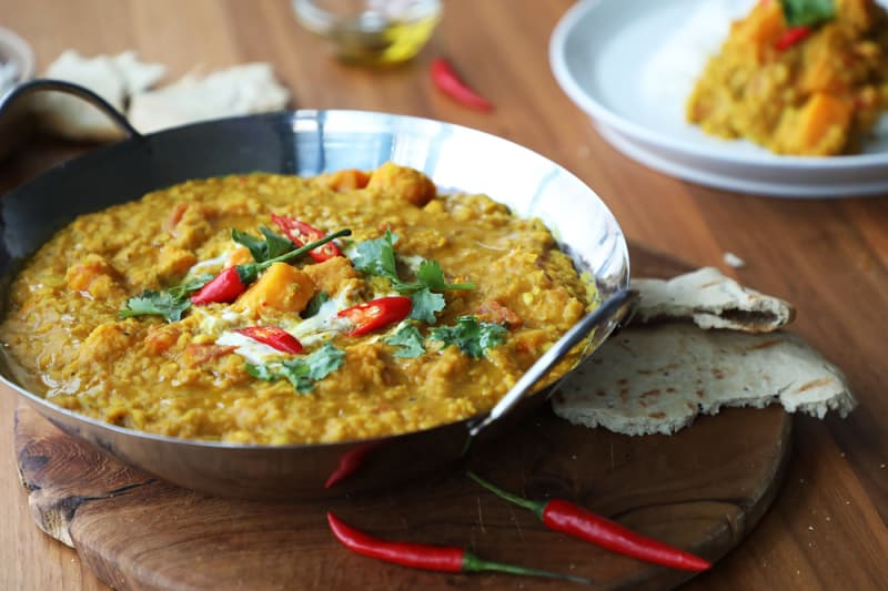 Recipe: Pumpkin & Lentil Dal
