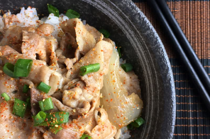 Recipe: Japanese Pork Rice Bowls (Butadon)